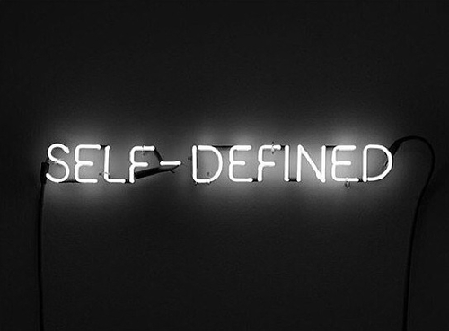 self-defined