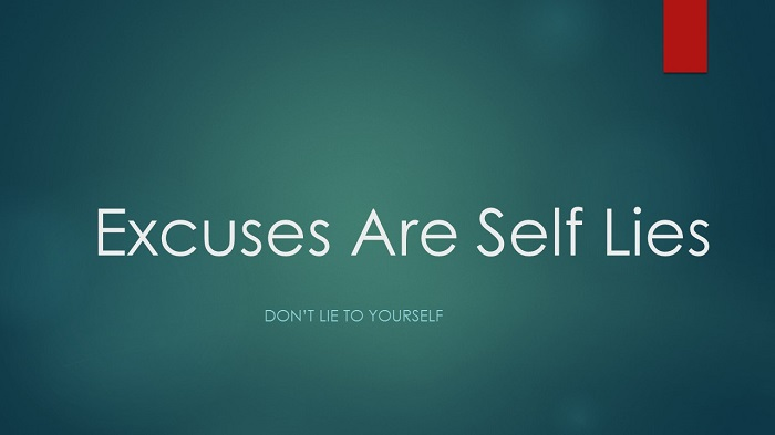 self-excuse