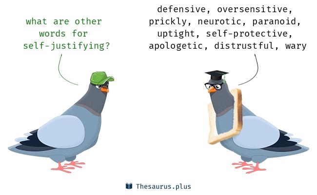 self-justifying