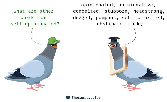 self-opinionated