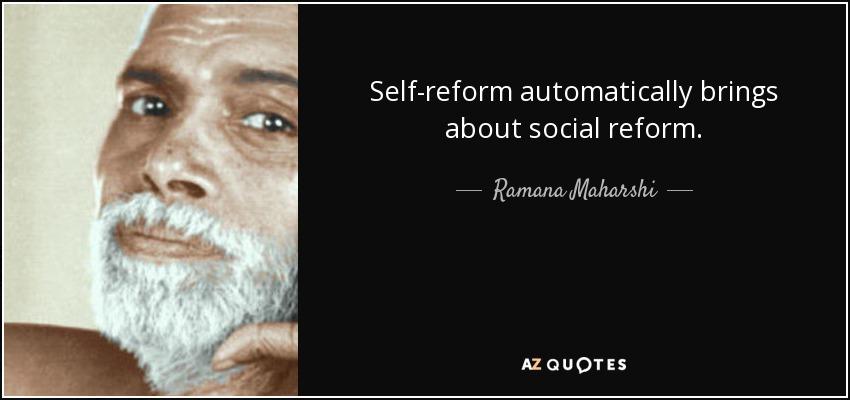 self-reform