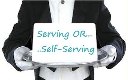 self-serving
