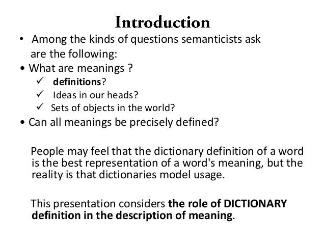 semanticist