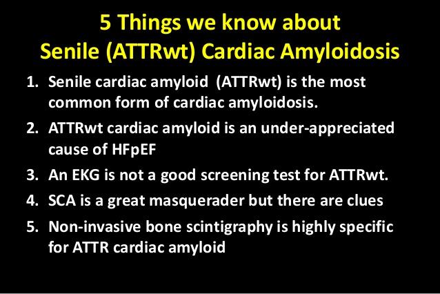 senile amyloidosis