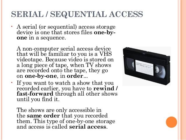 serial-access