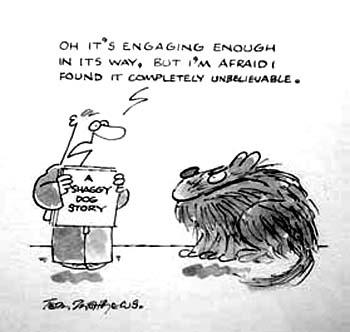 shaggy-dog story