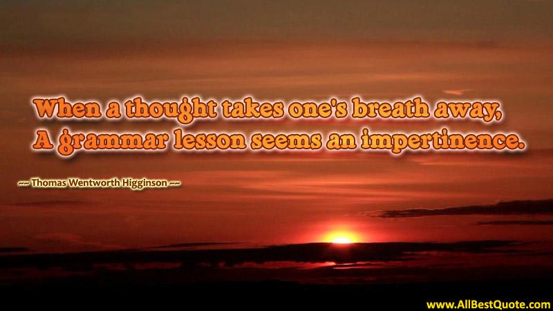 take one's breath away