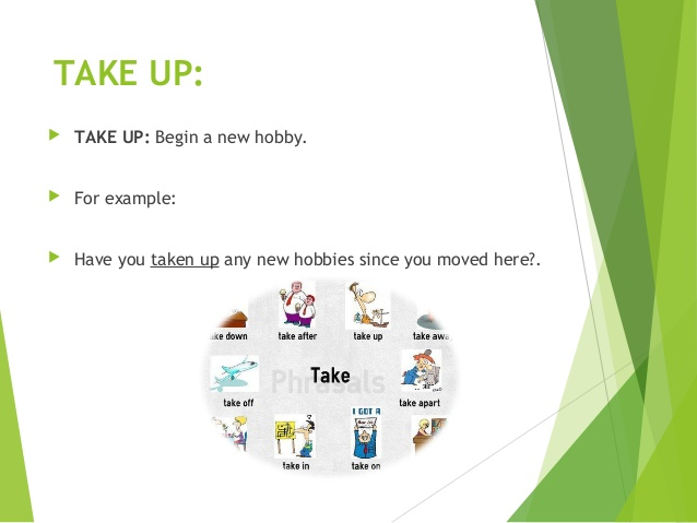 take up for