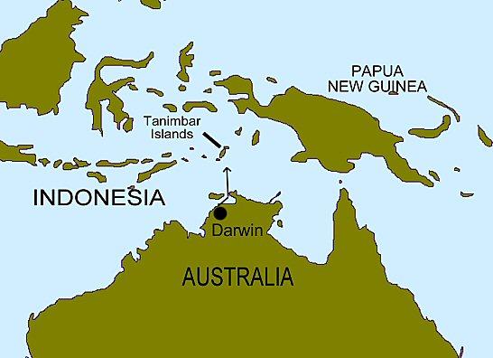 tanimbar islands