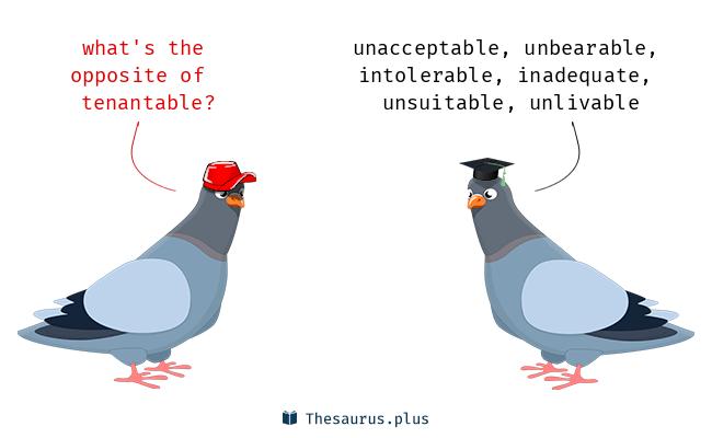 tenantable