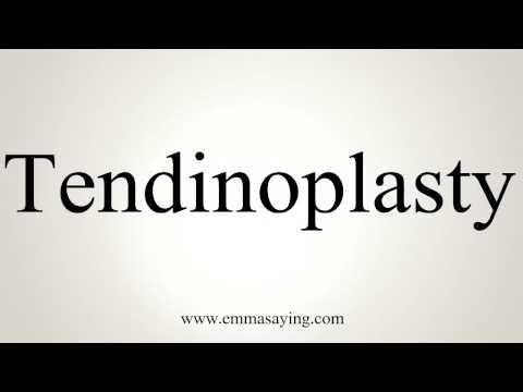 tendinoplasty