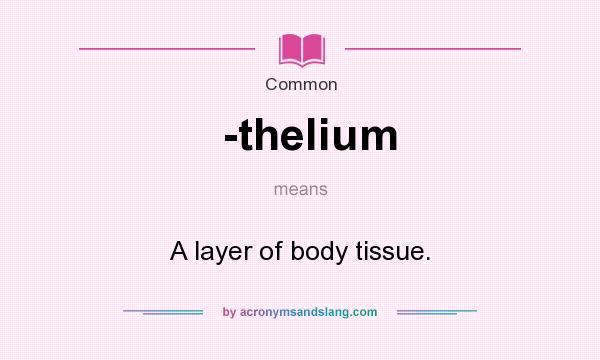 thelium