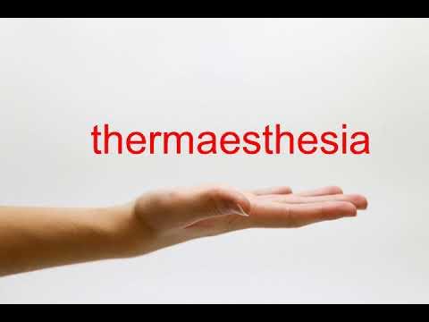 thermaesthesia