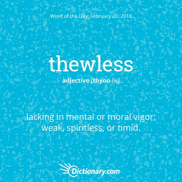 thewless