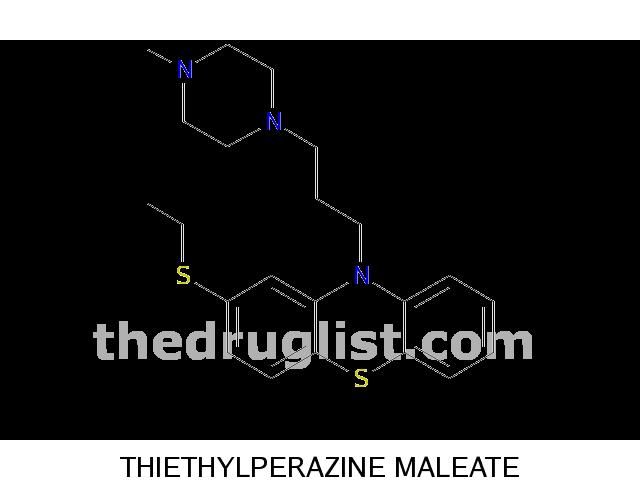thiethylperazine maleate