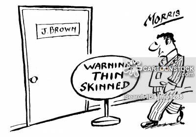 thin-skinned