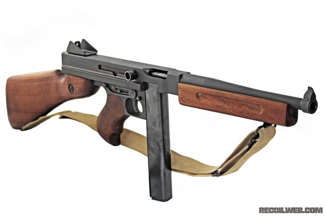 thompson sub-machine-gun