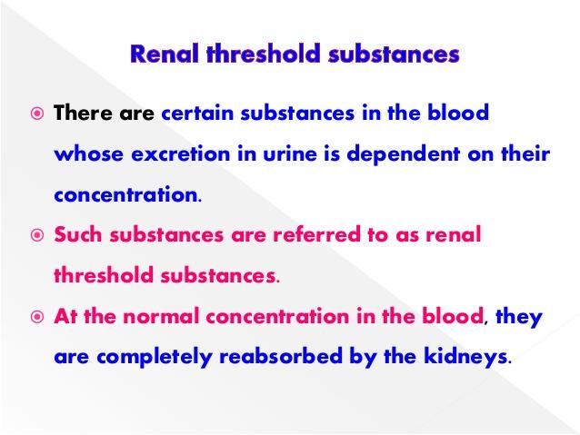 threshold substance