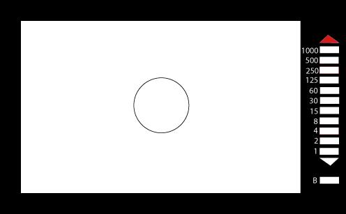 through-the-lens meter