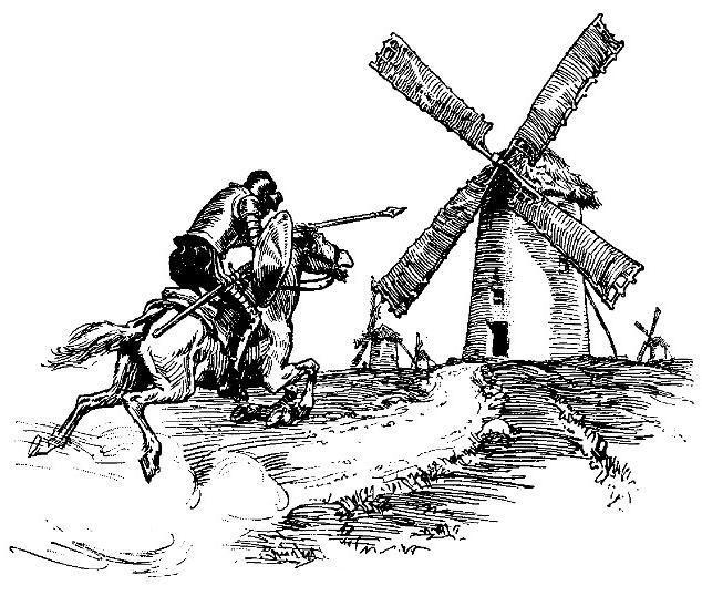 tilt at windmills