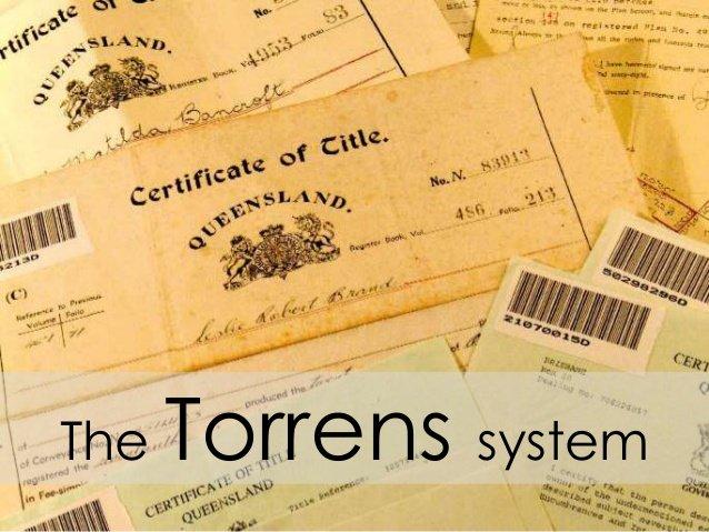 Torrens title