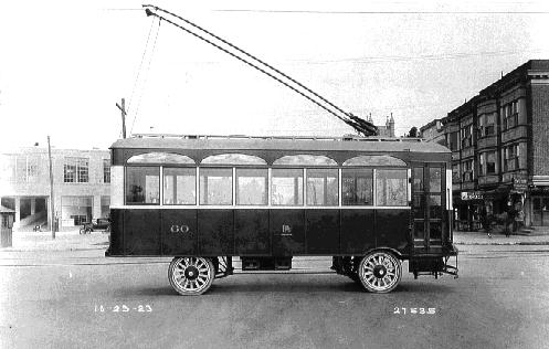 trackless trolley