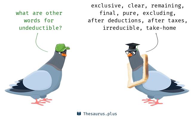 undeductible