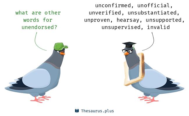 unendorsed