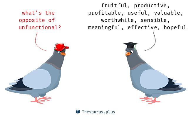 unfunctional
