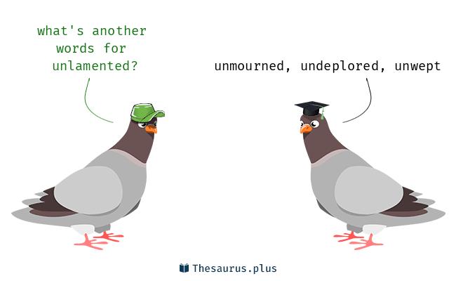 unlamented