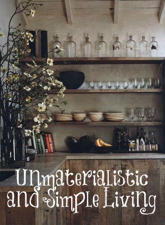 unmaterialistic