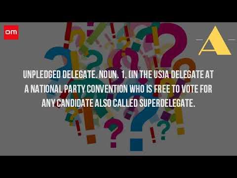 unpledged delegate