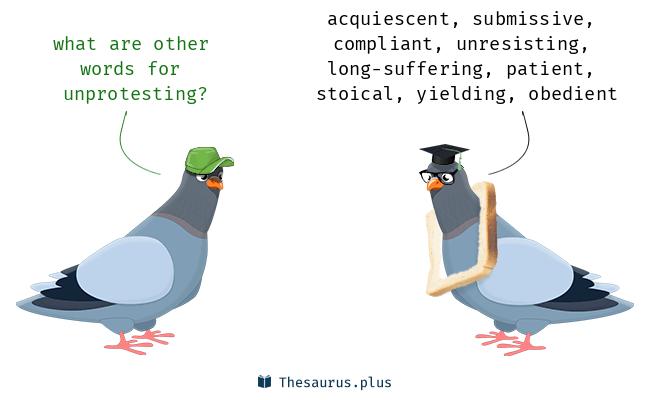 unprotesting