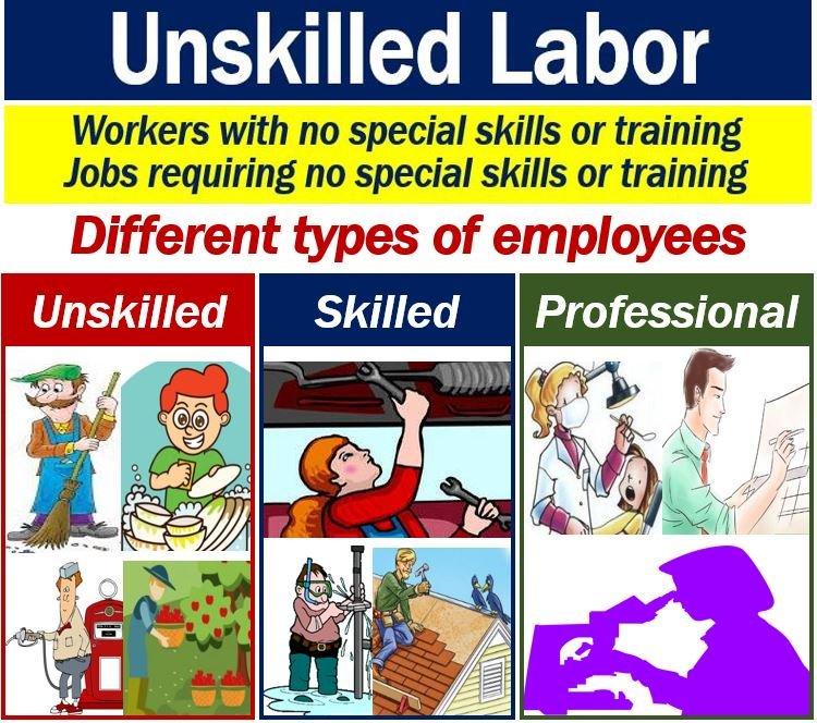 unskilled labor