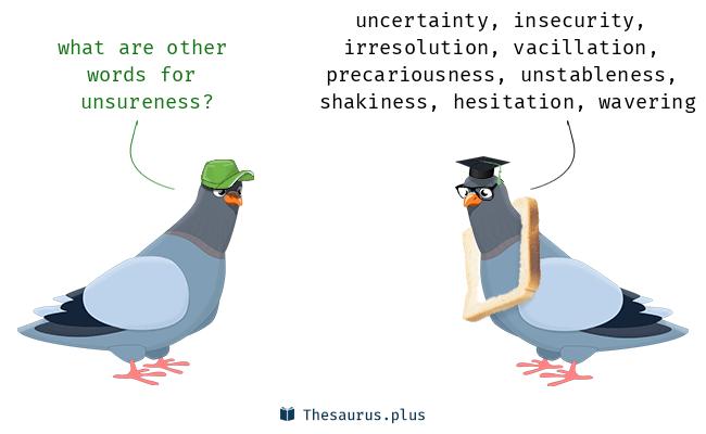 unsureness