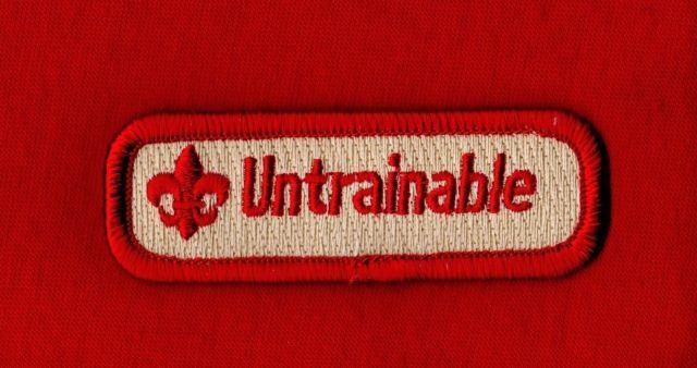 untrainable