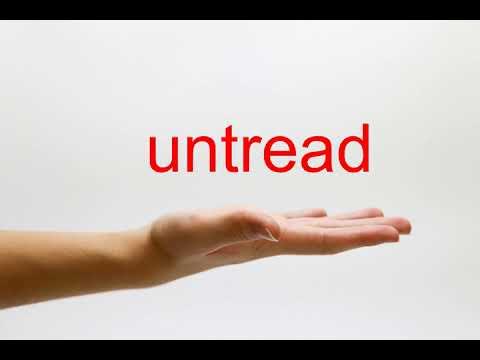 untread