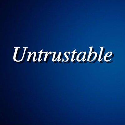 untrustable