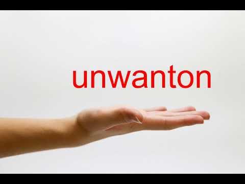 unwanton