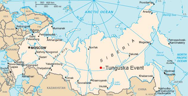 upper tunguska