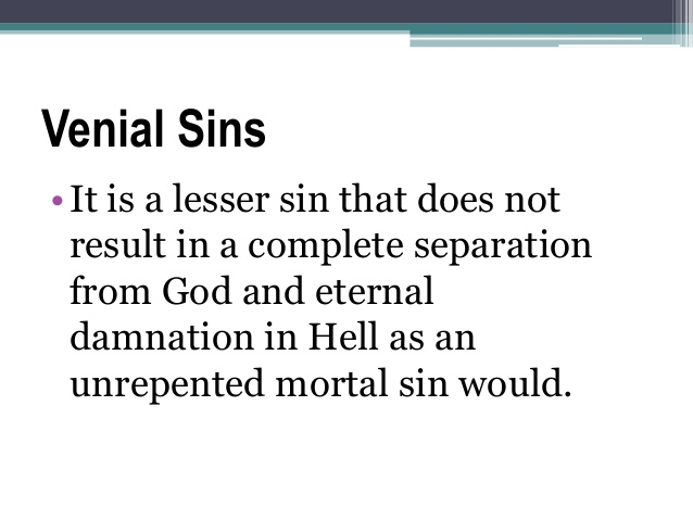 venial sin