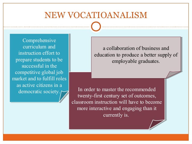 vocationalism