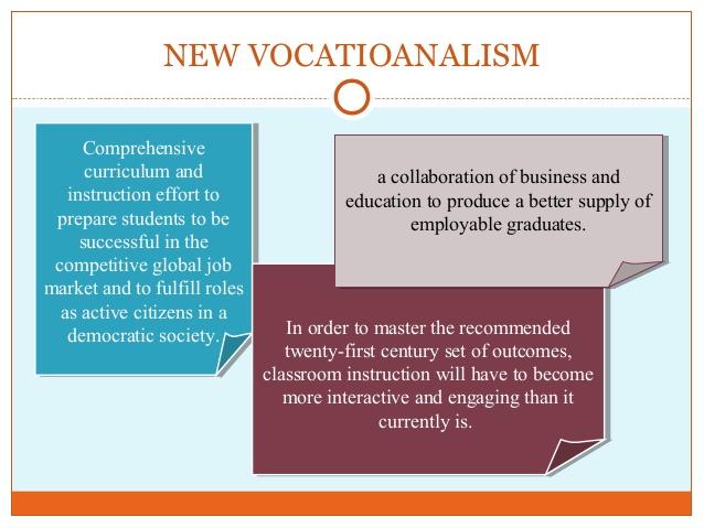 vocationalism