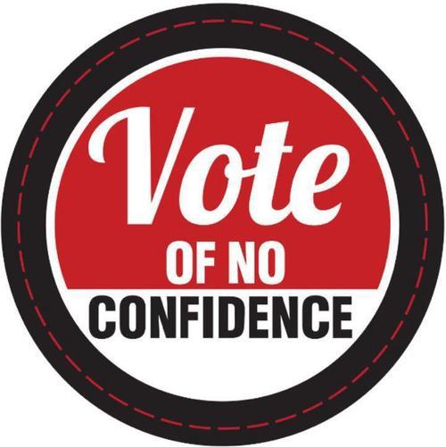 vote of non-confidence