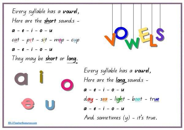 vowel-rhyme