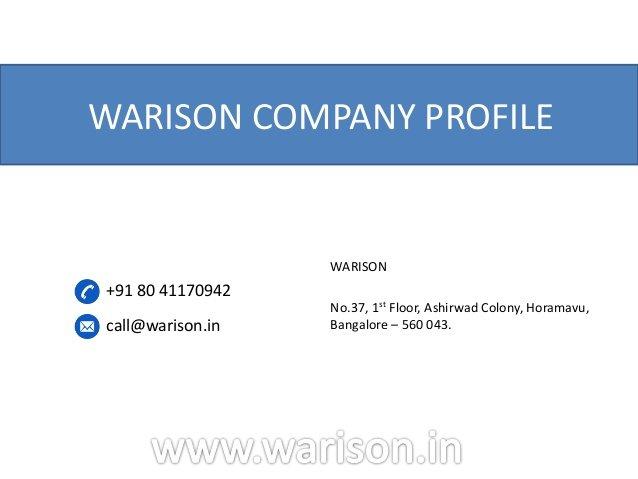 warison