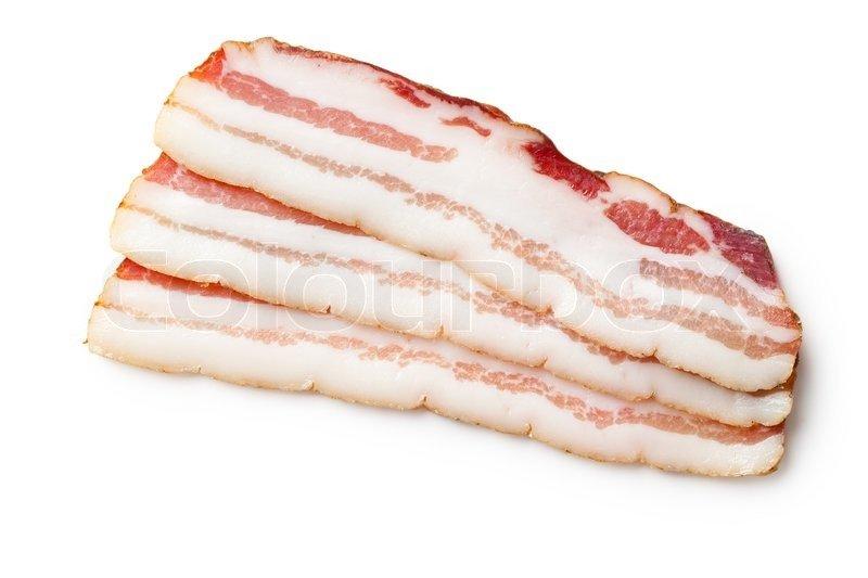 white bacon