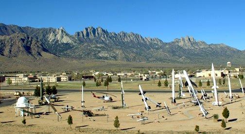 white sands missile range