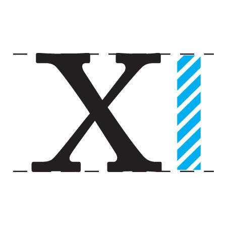 x-height  x-height