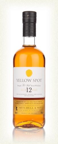 yellow spot